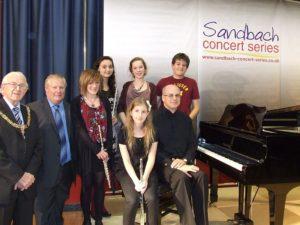 2011-Oct Spotlight musicians and dignitaries