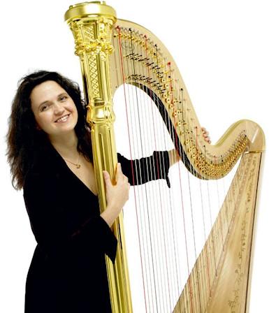 Lauren Scott - harp